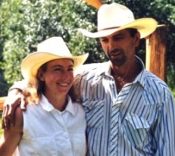 Birgit and Marc, owners of Falling Star Ranch